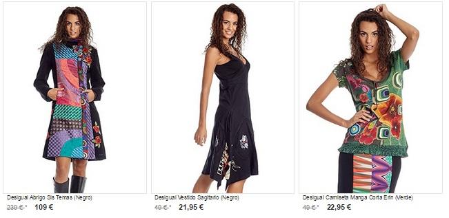 ropa desigual barata online