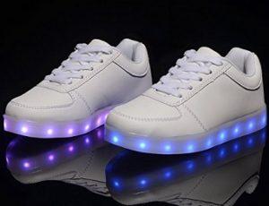 comprar zapatillas con luces led para niños