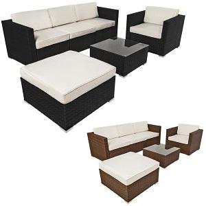 Muebles para jard n de rat n baratos el mejor ahorro for Muebles para terraza economicos
