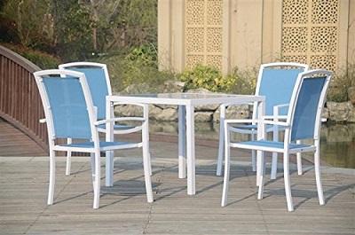 Muebles de jard n con mesa y sillas el mejor ahorro for Ofertas sillas de jardin