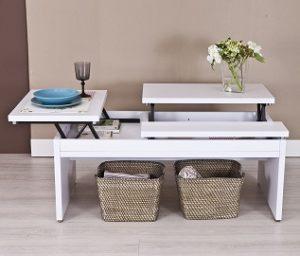 Mejores mesas de centro elevables el mejor ahorro for Mesa elevable amazon