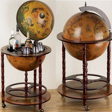 Aqu mueble bar bola del mundo barato el mejor ahorro for Planeta del mueble
