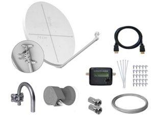 mejor antena parabolica 80 cm barata ofertas