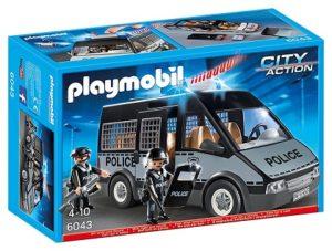 playmobil furgon de policia barato comprar