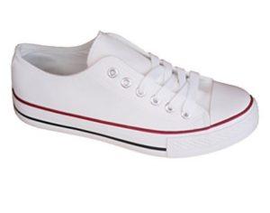 zapatillas canvas blancas mujer baratas ofertas
