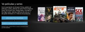 comprar amazon prime video gratis online