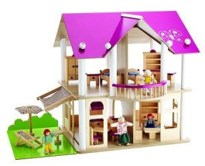 casas de muñecas amuebladas baratas