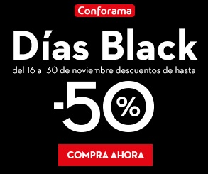 conforama black friday 2017 descuentos