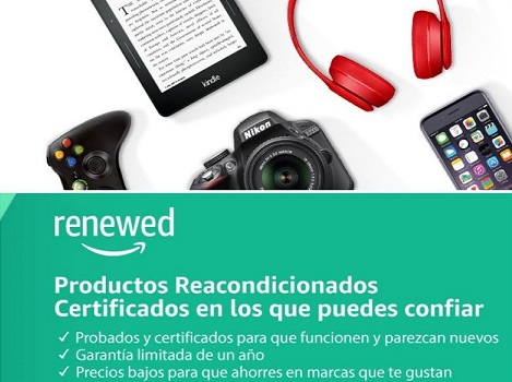 amazon renewed reacondicionados