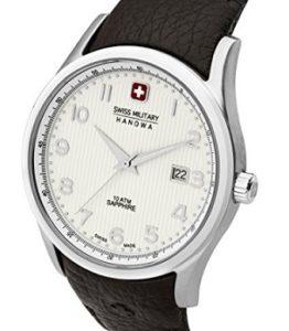 reloj swiss miltary hombre con plata