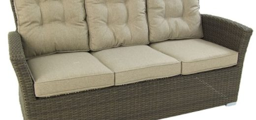 sofa jardin 3 plazas color chocolate barato online