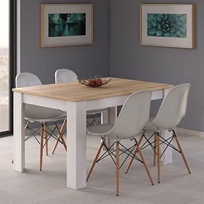Mesa de comedor habitatdesign barata el mejor ahorro - Habitat mesas comedor ...