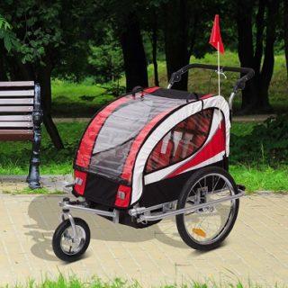 mejor remolque para bicicletas para niños