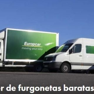 donde alquilar furgonetas baratas online
