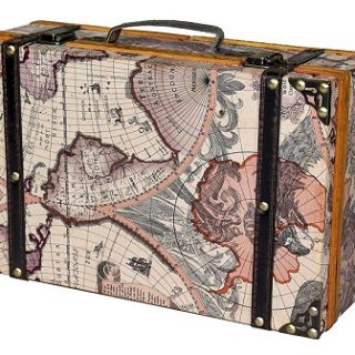 donde comprar maletas vintage baratas online
