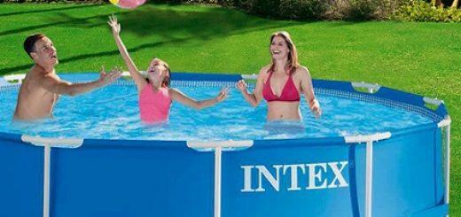 donde comprar piscinas desmontables intex baratas