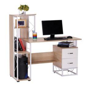 🥇 Mesa de oficina Silvano de madera Precio Barato | El ...