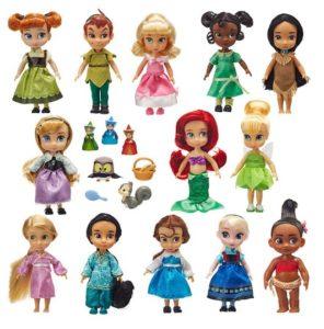 muñecas disney animators comprar precio mas barato