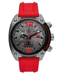 652fbb9f0f9 Reloj Diesel hombre rojo características y precio