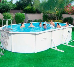 comprar piscina desmontable de acero bestway precio barato online