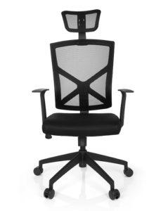 🥇 Silla de oficina Celio Pro negra Precio Barato Online ...