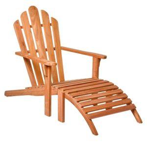 comprar sillon de jardin reposapies madera teca precio barato online