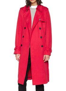 comprar abrigo tommy hilfiger mujer rojo precio barato online