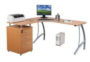 comprar mesa de oficina de madera castor precio barato online