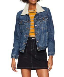 comprar chaqueta mujer lee sherpa precio barato online