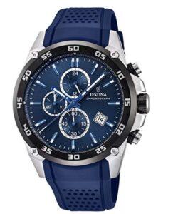 comprar reloj festina hombre azul precio barato online