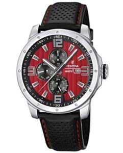 comprar reloj festina hombre negro y rojo barato online