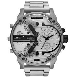 comprar reloj diesel plateado hombre precio barato online