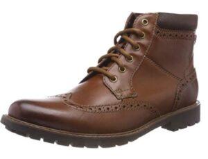 comprar botas clarks marrones precio barato online