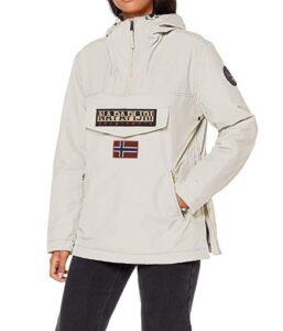 comprar chaqueta napapijiri mujer blanca precio barato online