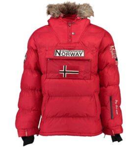 comprar chaqueta norway hombre roja precio barato online
