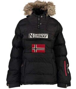 comprar chaqueta norway mujer negra precio barato online
