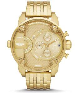 comprar reloj dorado hombre diesel precio barato online