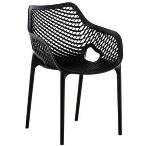 comprar silla de confidente negra noria barata online