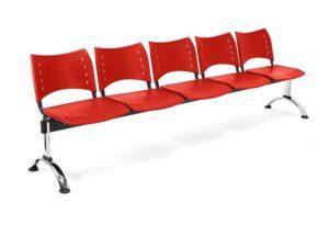comprar sillas de espera rojas precio barato online