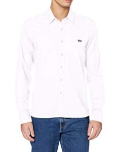 comprar camisa levis hombre blanca precio barato online chollo