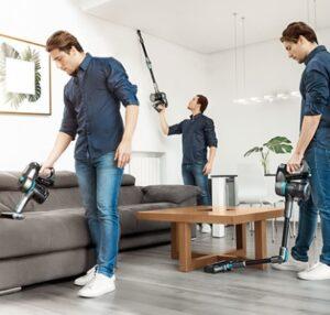 comprar mejor aspirador escoba para desinfectar suelos barato