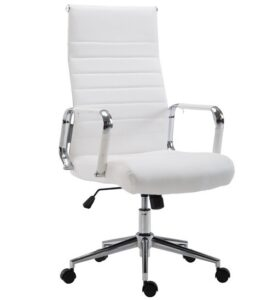 comprar silla de oficina bñanca con ruedas precio barato online chollo