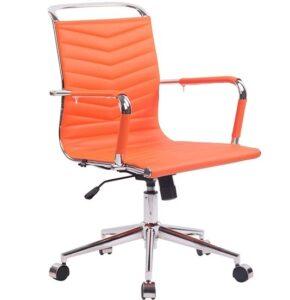comprar silla de oficina color naranja precio barato online chollo