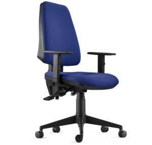 comprar silla de oficina giratoria azul precio barato online chollo