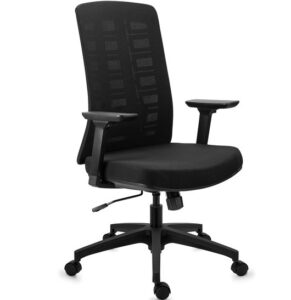 comprar silla de oficina de diseño negra preco barato online chollo