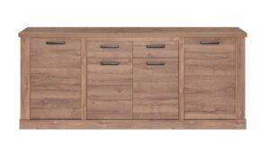 comprar aparador de madera 4 puertas precio barato online