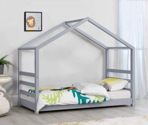 comprar cama infantil forma de casa precio barato online