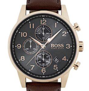 comprar cronografo hugo boss hombre cuero precio barato online