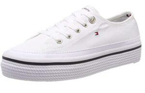 comprar zapatillas tommy mujer blancas plataforma baratas