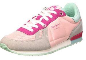 comprar zapatillas pepe jeans mujer rosas precio barato online